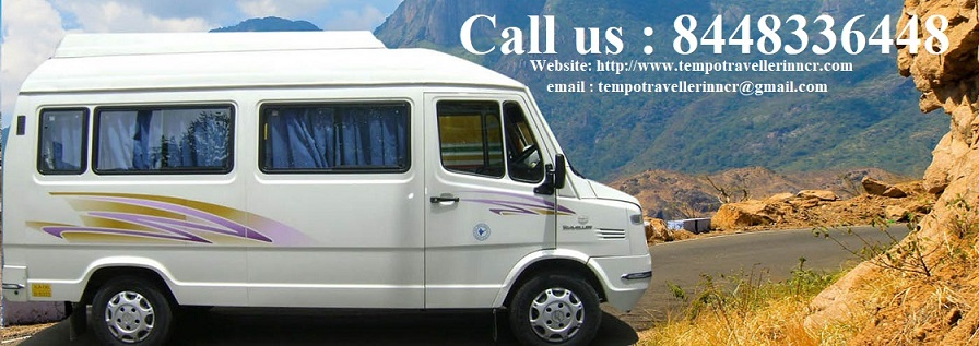 Tempo traveller on rent near Sector 43 faridabad